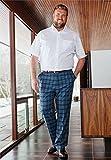 KingSize Mens Big & Tall Classic Fit Broadcloth Flex Short-Sleeve Dress Shirt