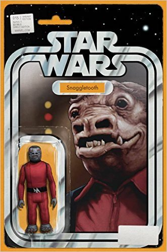 Star Wars #15 Christopher Action Figure Var Comic Book