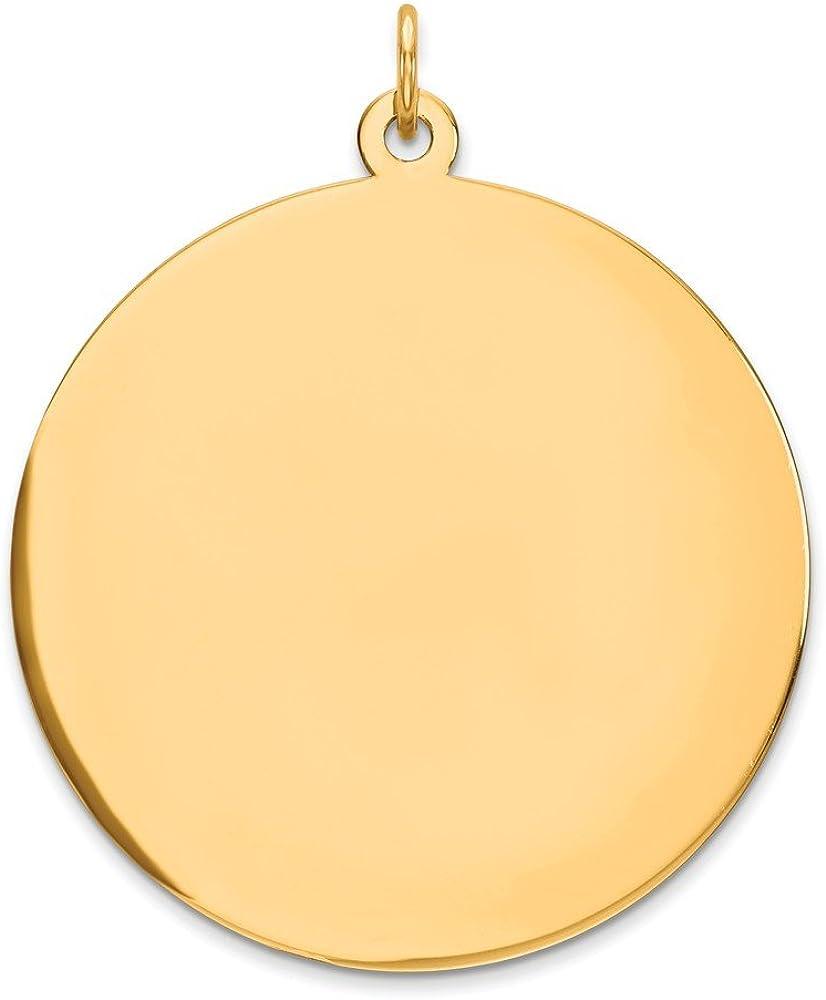 22mm x 9mm Mia Diamonds 14k Yellow Gold Y Casted Medium Diamond-Cut Number 2 Charm