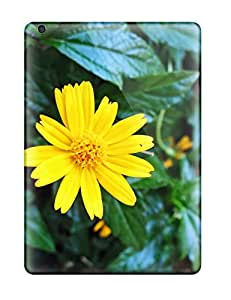 Ipad Air Cover Case - Eco-friendly Packaging(yellow Flowers )
