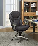 Serta Works Executive Office Chair with Back in Motion Technology, Opportunity Gray Bonded Leather