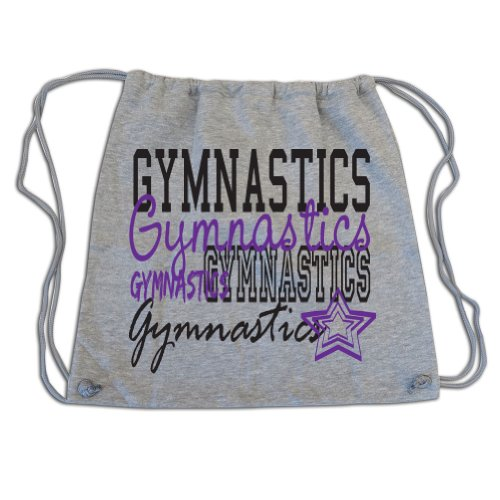 Sports Katz Drawstring Bag Gymnastics Gray