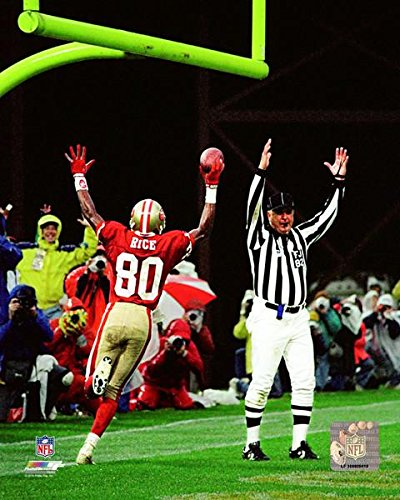 Jerry Rice San Francisco 49ers Action Photo (Size: 8