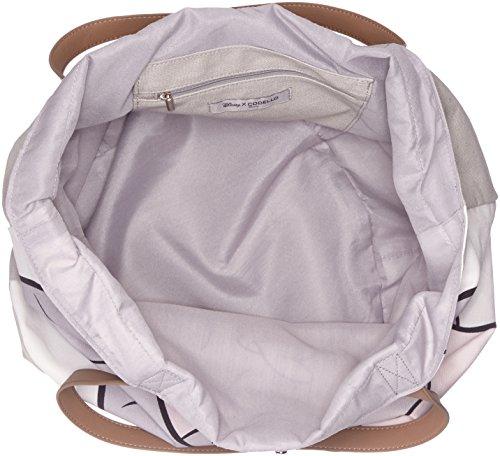 Codello Damen 81011609 Henkeltasche, Grau (Light Grey), 38x55x44 cm