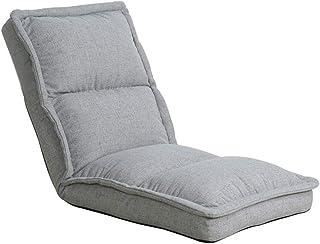 Canapé paresseux Canapé au Sol Chaise Lazy Simple Canapé Rembourré Arrière Salon Réglable Bderoom Balcon Canapé (Couleur : Style2)