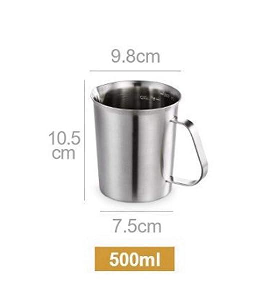 Mmamma Cocina Cafetera Tetera Cafetera Medir de Acero Inoxidable ...