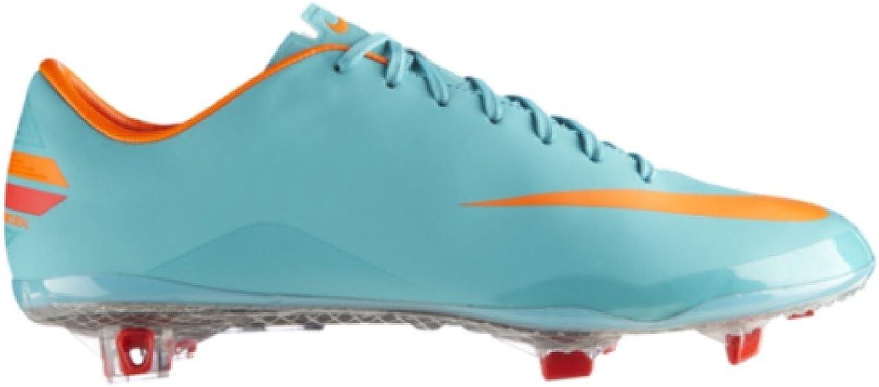 Prohibir Sala poco claro  Amazon.com | Nike ACC Mercurial Vapor VIII Firm Ground Football Boots - 13  - Blue | Soccer