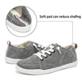 ALEADER Slip On Canvas Shoes for Women, Ladies