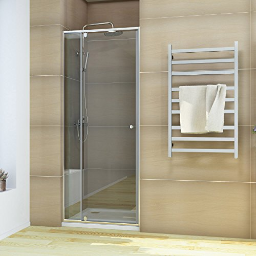 ELEGANT Pivot Swing Shower Door 32-36