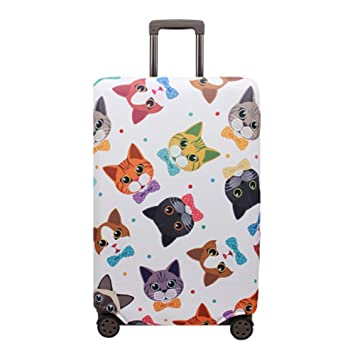 housesweet - Funda protectora para maleta de viaje, con cremallera, para maletas de 46 a 81 cm medium Color17: Amazon.es: Hogar