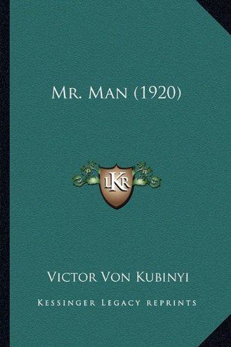 Read Online Mr. Man (1920) pdf epub