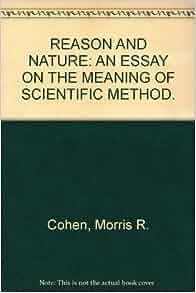 scientific essay meaning