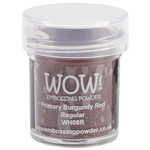 Wow Embossing Powder 15ml, Primary Burgundy Red]()