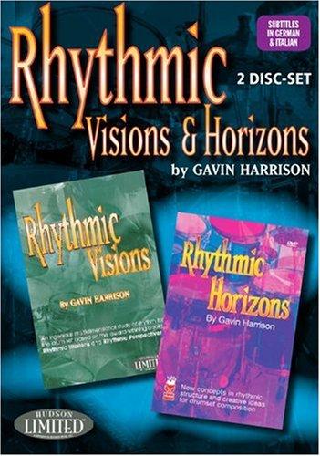 Hudson Music Rhythmic Visions & Horizons with Gavin Harrison 2 DVD Set (Hudson Music Sheet Music)