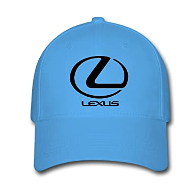 279f96f778688f Amazon.com: Adjustable Lexus Logo Baseball Cap Running Cap Sky Blue:  Clothing
