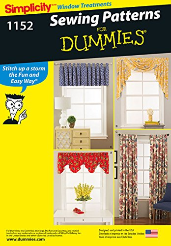 Simplicity Patterns US1152OS Window Treatments, OS (ONE SIZE)