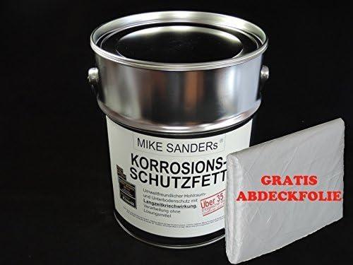 Mike Sanders Korrosionsschutzfett 4 Kg Plus Abdeckplane Gratis Auto