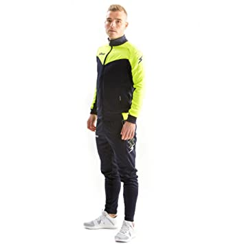 Chandal Zeus Training Ulysse Amarillo Fluo  Amazon.es  Deportes y ... 148ee12bf7db