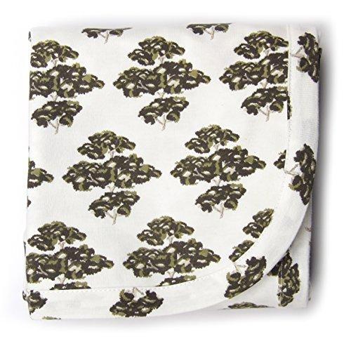 Kate Quinn Organic Unisex-baby Receiving Blanket, Onesize (In the Woods)