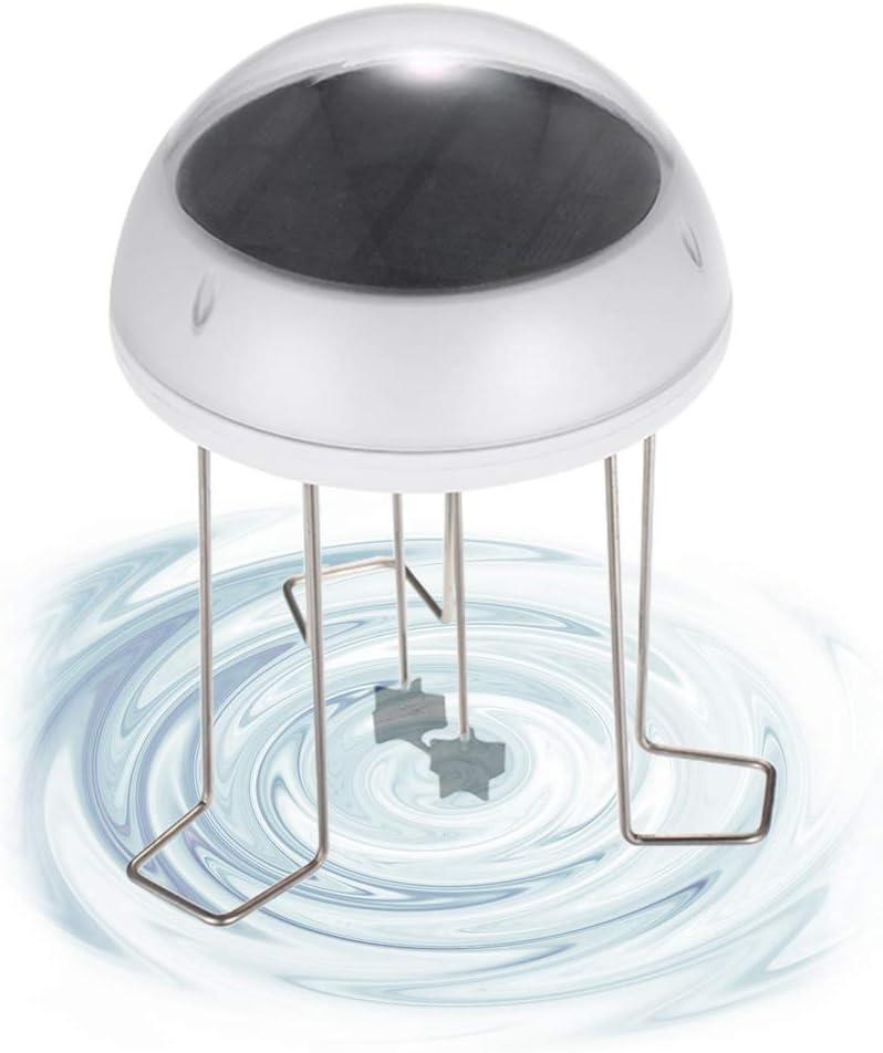 Ritioner - Peluca de Agua Solar para baño de pájaros con energía Solar y Respaldo de batería