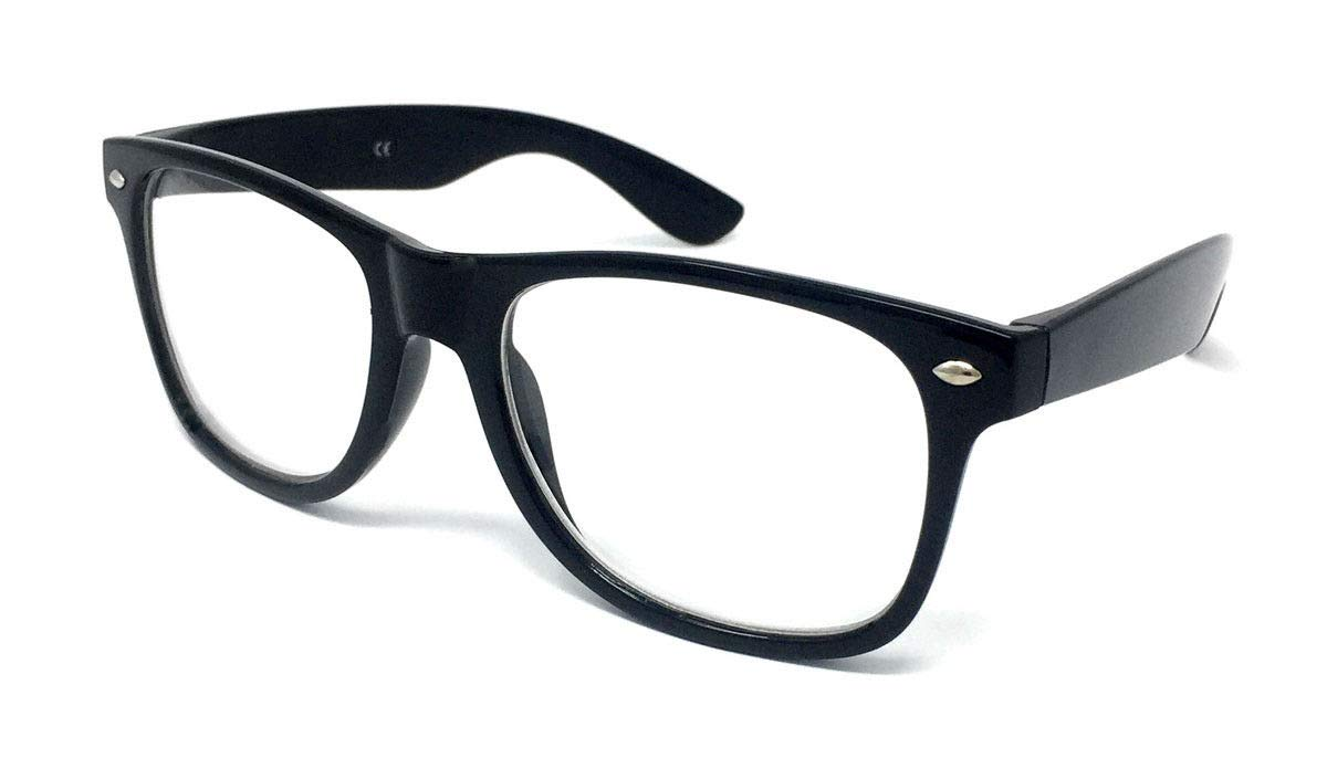 943e7a31e68 Black Frame Nerd Glasses