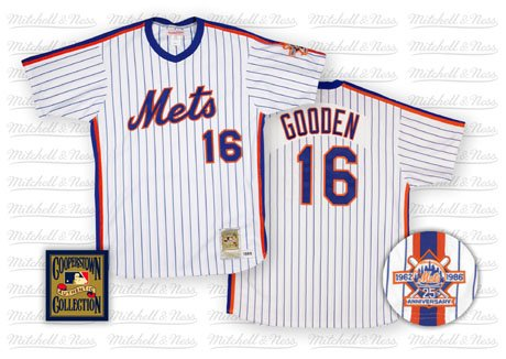 differently 0be5a 4650f Amazon.com : Dwight Gooden Mets 1986 Home Jersey Mitchell ...
