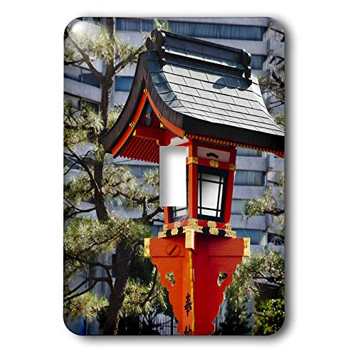 - 3dRose Danita Delimont - Japan - Red lantern in Fushimi Inari Shrine, Kyoto, Japan - 2 plug outlet cover (lsp_312771_6)