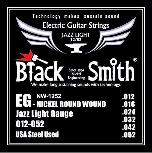 Blacksmith NW12-52 pro Cuerdas Guitarra Eléctrica Jazz Ligero ...