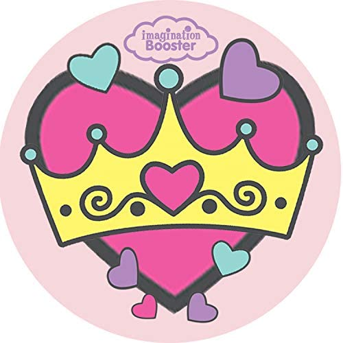Princess First Haircut certificates w//Princess Stickers 10 Pack