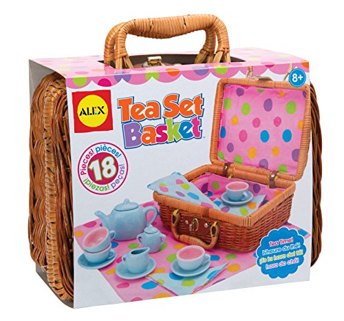 ALEX Toys Tea Set Basket (Alex Tea)