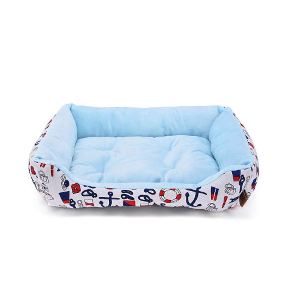 bluee1 Medium bluee1 Medium Snug Comfort Dog Donut Bed