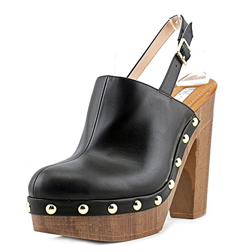 INC International Concepts Womens Ashmee Closed Toe Ankle Strap Mules Black CPxO6hM