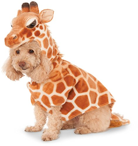 [Giraffe Hoodie for Pet, Small] (Dog Halloween Costumes Videos)