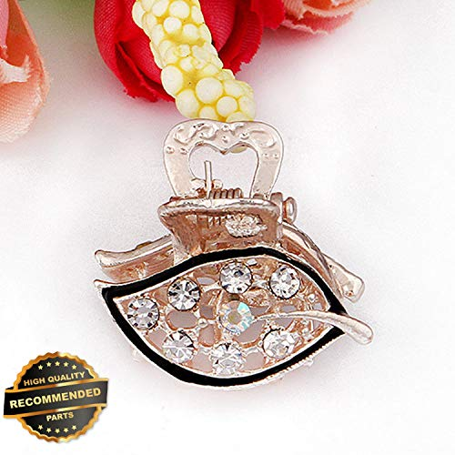 Gatton Premium New Women Crystal Hair Claw Clamps Butterfly Claw Clamp Clip Charm Hair Accessories | Style HRCL-M182012169