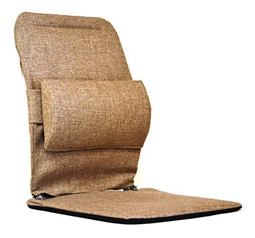Mc Carty's Sacro-Ease Standard Model Lumbar Seat Support, Light Brown by McCarty's