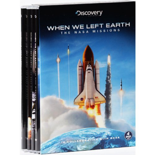 Discovery Channel When We Left Earth- The Nasa Missions (4DVD (Nasa Clipper)