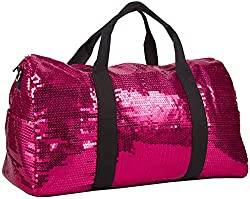 Sequin Duffel Bag