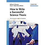 How to write a successful science thesis cover
