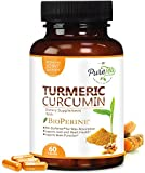 Turmeric Curcumin Max Potency 95% Curcuminoids 1950mg with Bioperine Black Pepper for Best Absorption, Anti-Inflammatory Joint Relief, Turmeric Supplement Pills by PureTea – 60 Capsules Review