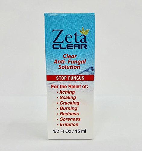 ZetaClear Toe Fungus Treatment: New FDA Approved Formula is Clinically Proven to help Destroy Nail Fungus at the Source. Protect Against Dry, Cracked, Damaged Nails with Our New Solution! - 3 Pack by Zeta Clear