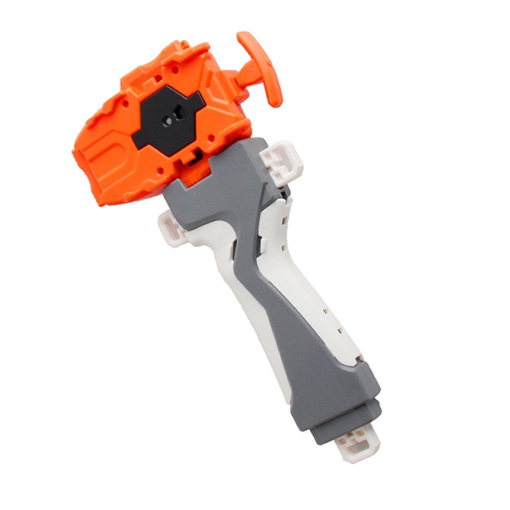 B66 Orange Homyl Lanceur de Cha/îne en Plastique /& Poign/ée pour Toupie Combat 3053 S/érie B48