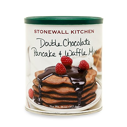 Stonewall Kitchen Double Chocolate Pancake and Waffle Mix, 16 Ounce Can ()