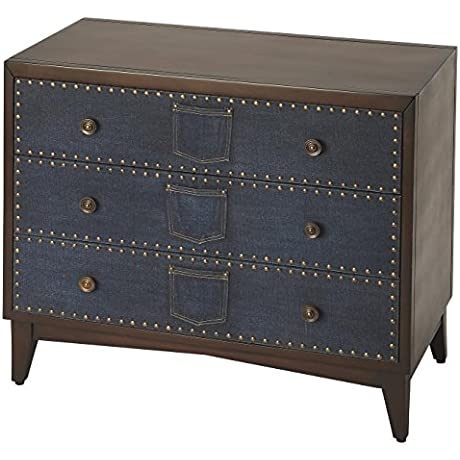 Butler Specialty Company 3711350 Console Chest Lindor Denim