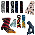 Corazon Women's Tabi Socks with Japansese Design 22-25cm