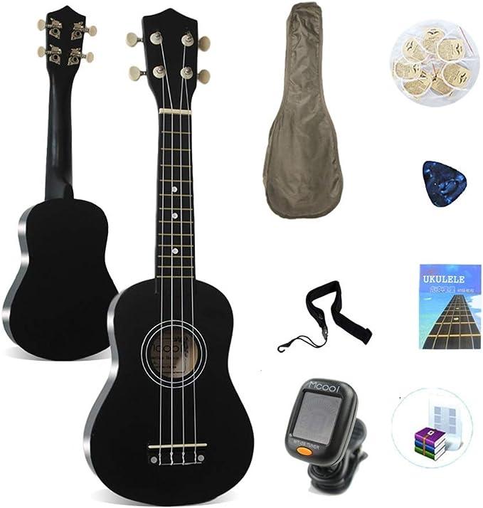 BAIYING-Guitarra Acústica Desierto Camuflaje Pérgola Protector Solar Cubrir Malla De Nylon Fibra De Poliester 14 Tamaños (Color : Black, Size : Long-53cm): Amazon.es: Hogar