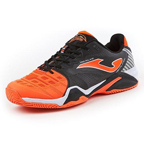 Joma , Chaussures spécial tennis pour homme multicolore black-orange all court