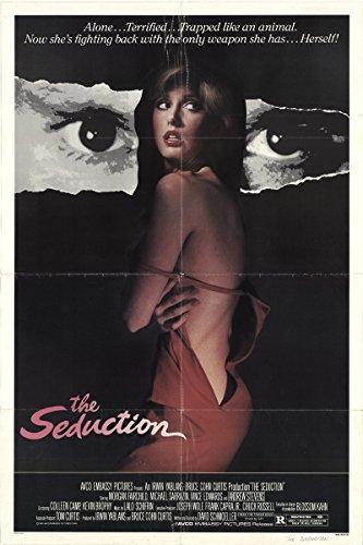 The Seduction 1982 Authentic Original Movie Poster Fine, Very Good Michael Sarrazin Thriller U.S.