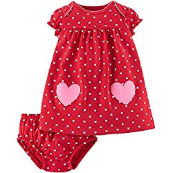 Child Of Mine By Carters Baby Valentines Day Dress (6 9 Months, Red