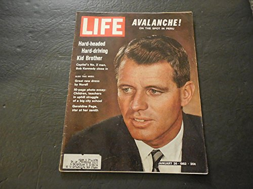 Life Jan 26 1962 Back When We Had The Semblance Of A Government