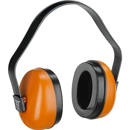 Auriculares anti-ruido con arco de plástico ABS ajustable en 3 posiciones,